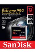 Sandisk Carte Mémoire Compact Flash Extreme Pro 160MB/s 32 GB VPG 65, UDMA 7