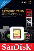 Sandisk SD 64G EXTREME PLUS
