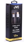 Jvc Mini HDMI 1,5M connecteur OR