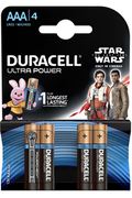 Duracell DURACELL ULTRA POWER AAA X4 STAR WARS