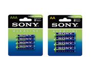 Sony Pack 60 piles : 32 LR06 AA + 28 LR03 AAA