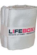 Lifebox COUVERTURE ANTI FEU