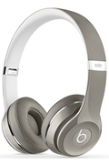 Beats SOLO 2 LUXE EDITION SILVER