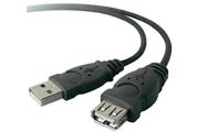 Belkin Rallonge USB Mâle A / Femelle A 1,8M