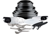Tefal INGENIO ESSENTIAL NOIR SET 20 PIECES