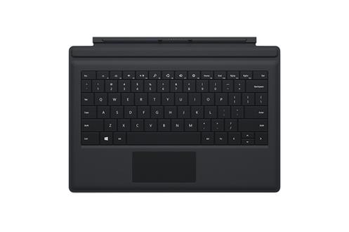 Clavier ultra-fin pour tablette Surface Pro 3Format AZERTYFixation aimantéeTouches multimédia confortables
