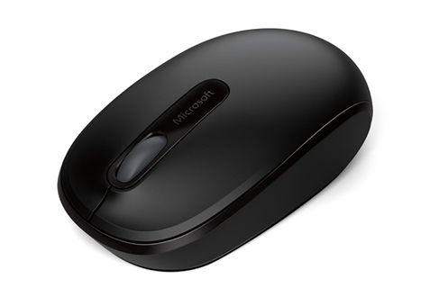 microsoft souris sans fil 1850 noire souris sans fil. Black Bedroom Furniture Sets. Home Design Ideas