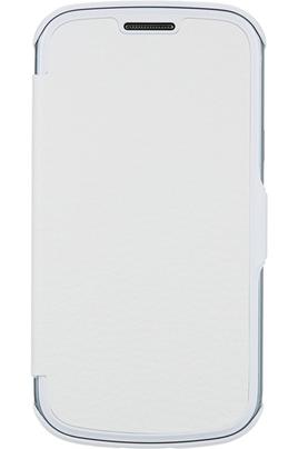 Anymode etui folio blanc pour samsung galaxy trend lite - Portable samsung galaxy trend lite blanc ...