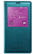 Samsung Etui S view Cover vert pour Galaxy S5