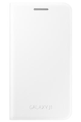 ACCESSOIRE SMARTPHONE SAMSUNG ETUI FLIP COVER BLANC POUR SAMSUNG GALAXY J1