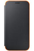 Samsung ETUI FLIP NEON NOIR POUR SAMSUNG GALAXY A5 2017