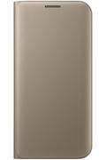 Samsung ETUI FLIP WALLET OR POUR SAMSUNG GALAXY S7 EDGE
