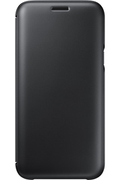 Samsung ETUI FLIP WALLET NOIR POUR SAMSUNG GALAXY J5 2017