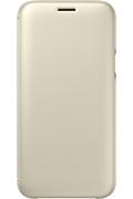Samsung ETUI FLIP WALLET OR POUR SAMSUNG GALAXY J5 2017