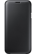Samsung ETUI FLIP WALLET NOIR POUR SAMSUNG GALAXY J7 2017