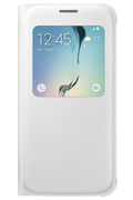 Samsung ETUI S VIEW COVER BLANC POUR GALAXY S6
