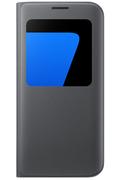 Samsung ETUI S VIEW COVER NOIR POUR SAMSUNG GALAXY S7 EDGE