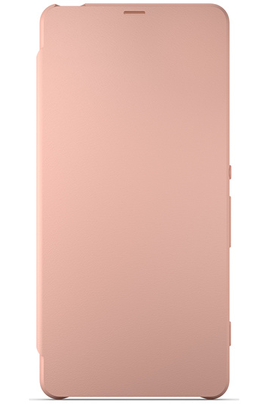 PROTECTION SMARTPHONE SONY ETUI FLIP COVER ROSE POUR SONY XPERIA X