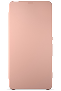 Sony ETUI FLIP COVER ROSE POUR SONY XPERIA X