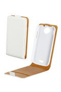 Swiss Charger Etui blanc pour WIKO CINK PEAX/PEAX 2