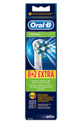 Oral B BROSSETTES CROSS ACTION 8+2