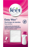 Veet EASY WAX RECHARGE DE BANDES X24