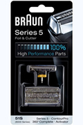 Braun GRILLE + BLOC COUTEAUX 51S COMBI-PACK