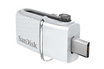 Sandisk Clé USB 3.0 SanDisk Ultra® Dual Drive 32 Go blanche