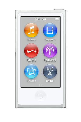 LECTEUR MP3-MP4, IPOD APPLE IPOD NANO 16GO SILVER