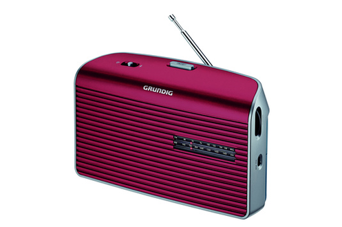 RADIO GRUNDIG MUSIC60L-RE ROUGE