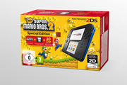 Nintendo 2DS NOIR BLEU + NEW SUPER MARIO BROS. 2
