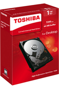 Toshiba P300 - High-performance Hard Drive 1 To - 7200 tpm - 64 Mo