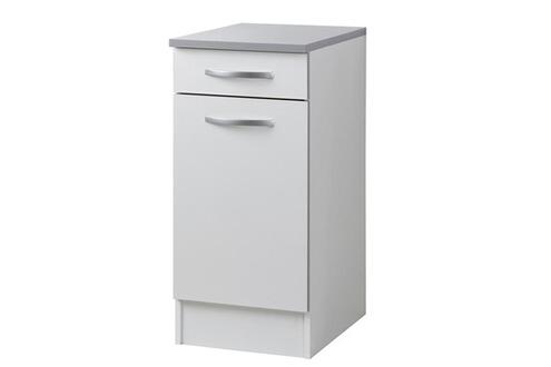 Last meubles el ment bas 40 cm profondeur 47 cm poppy - Meuble bas cuisine profondeur 40 cm ...