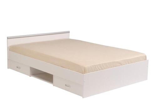 Last meubles lit 140x200 cm omega - 140x200 lit 2 places ...