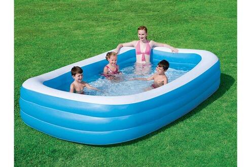 Bestway piscine gonflable deluxe x x m for Bestway piscine service com