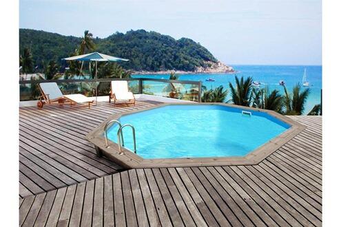 habitat et jardin piscine bois venecia x. Black Bedroom Furniture Sets. Home Design Ideas