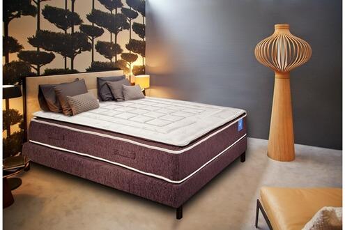belle literie benoist matelas latex surmatelas cousu 180 x 200 cm charme ii. Black Bedroom Furniture Sets. Home Design Ideas