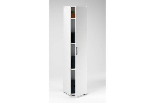 hetj armoire cobi 35 x 34 x 175 cm blanc. Black Bedroom Furniture Sets. Home Design Ideas