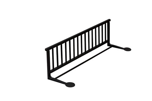 combelle barri re de lit qui prot ge des chutes solide anti basculement noir. Black Bedroom Furniture Sets. Home Design Ideas