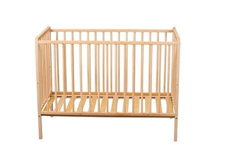 combelle lit b b 60 x 120 cm simple 2 positions en bois massif h tre france. Black Bedroom Furniture Sets. Home Design Ideas