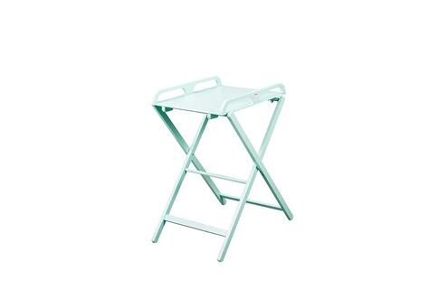 combelle table langer pliable verte 2 hauteurs simple barri re s curit. Black Bedroom Furniture Sets. Home Design Ideas