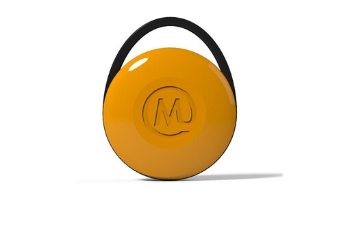 mywi porte clef bluetooth wi finder pop yellow. Black Bedroom Furniture Sets. Home Design Ideas