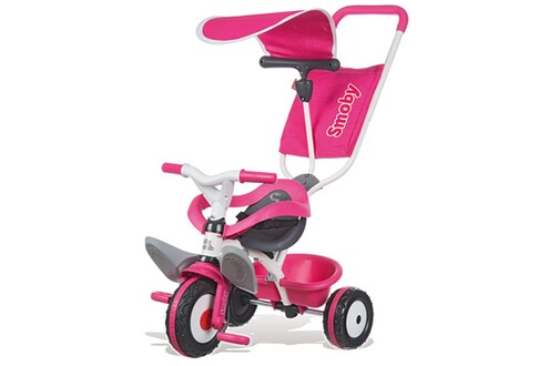 smoby tricycle baby balade rose. Black Bedroom Furniture Sets. Home Design Ideas