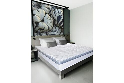 olympe literie matelas m moire de forme aura 90x190. Black Bedroom Furniture Sets. Home Design Ideas