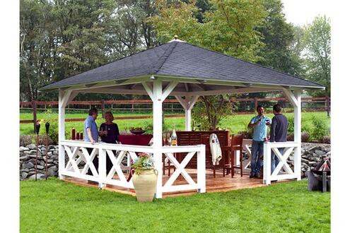 Habitat et jardin tonnelle bois cannes x x 3 for Jardin et habitat