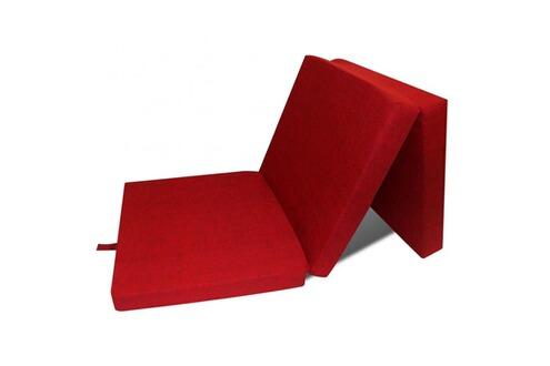 Top prix matelas en mousse pliable rouge 190 x 70 x 9 cm - Matelas mousse 70 x 190 ...