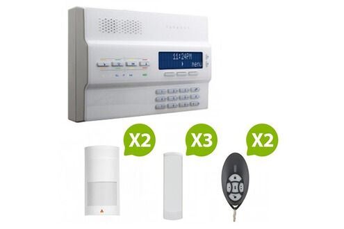 Paradox mg 6250 alarme maison sans fil rtc gsm kit 3 for Alarme maison securite good deal