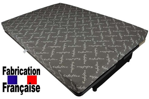 direct ameublement matelas confort pour banquette clic clac 130x190. Black Bedroom Furniture Sets. Home Design Ideas