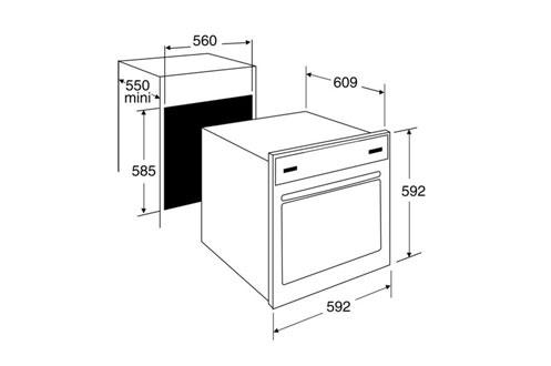 brandt fp1052x inox fp1052x. Black Bedroom Furniture Sets. Home Design Ideas