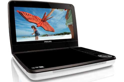 Lecteur DVD portableEcran 23 cm 16/9Connectique : 1 AV composite, 1 usb, 1 jack 3,5Formats lus : DVD/Dvix/CD audio/WMA/MP3/JPEG